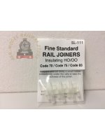 Peco SL-111 Insulated Code 75 (Finescale) Rail Joiners (12)