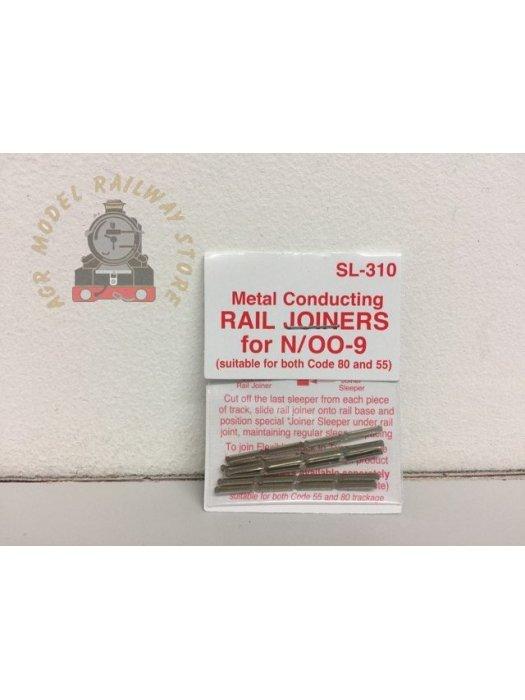Peco SL-310  Nickel Silver Rail Joiners (24) - N Gauge