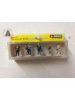 Noch 15574 Mobile Phone Users (6) Figure Set - OO / HO Gauge