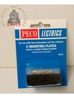 Peco PL-9  Mounting Plate for PL10 ( PACK 5 )