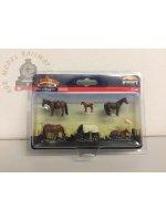 Bachmann 36-080 Horses - OO Gauge