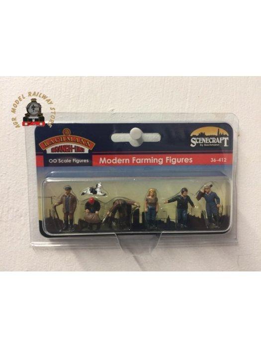 Bachmann 36-412 Modern Farmers (6) Figure Set - OO Gauge
