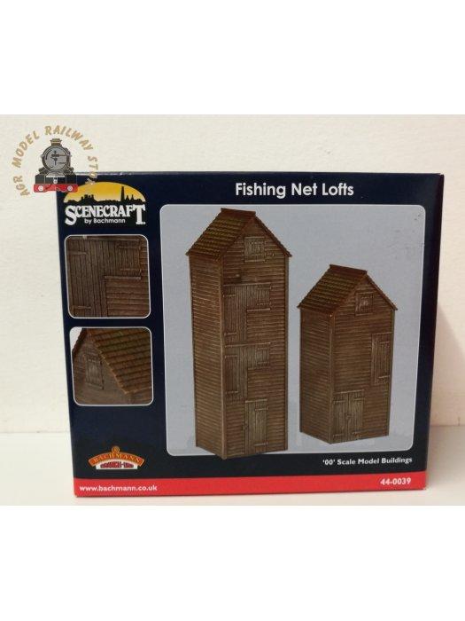 Bachmann 44-0039 Fishing Net Lofts