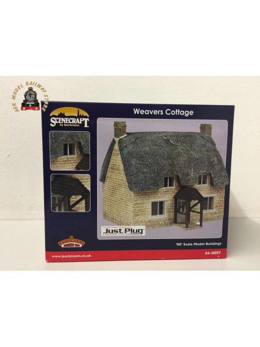 Bachmann 44-0097 Scenecraft Weavers Cottage (Pre-Built)