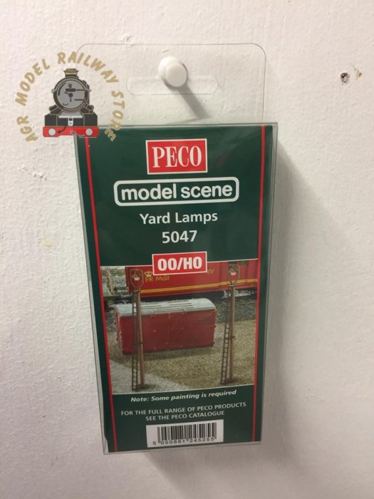 Modelscene 5047 Yard Lamps (6) - OO Gauge
