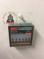 Modelscene 5050 Trackside Speed Signs - OO Gauge