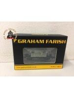 Graham Farish 377-852A 25t Pill Box Brake Van (RH Duckets) BR Grey Early