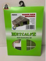 Metcalfe PN951 Manor Farm Buildings Card Kit - N Gauge
