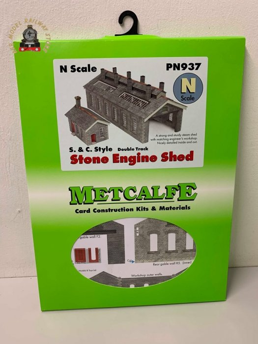 Metcalfe PN937 Settle & Carlisle Double Track Engine Shed Card Kit - N Gauge