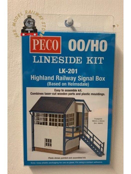 Peco LK-201 Highland Railway Signal Box - OO/HO Gauge