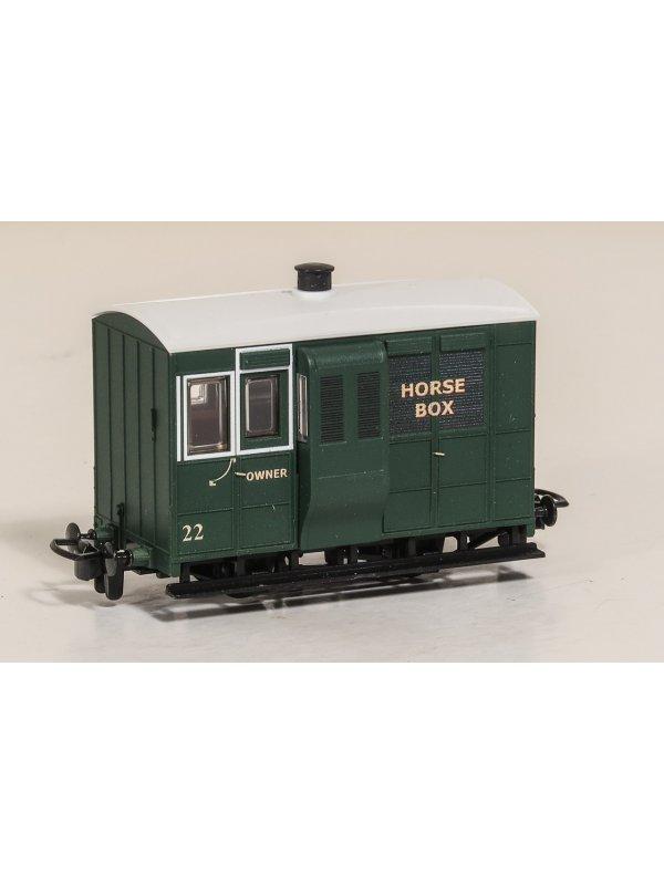 Peco GR-536AGR 009 Gauge 'Horse Box' Wagon AGR Special