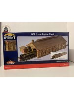 Bachmann 44-0157 OO Gauge Two Road Stone Engine Shed