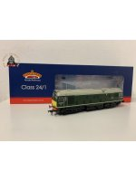 Bachmann 32-441SF OO Gauge Class 24/1 D5149 BR Green Small Yellow Panels DCC Sound Fitted