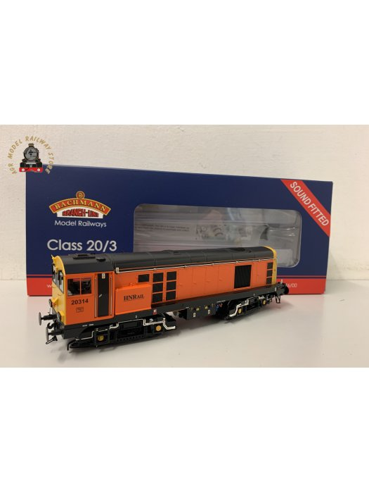Bachmann 35-126ASF OO Gauge Class 20/3 20314 Harry Needle Railroad Company Sound Fitted