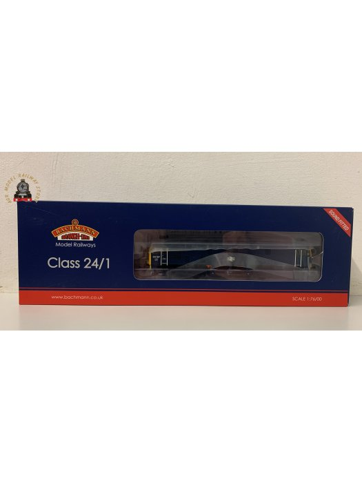 Bachmann 32-442SF OO Gauge Class 24/1 24137 BR Blue DCC Sound Fitted