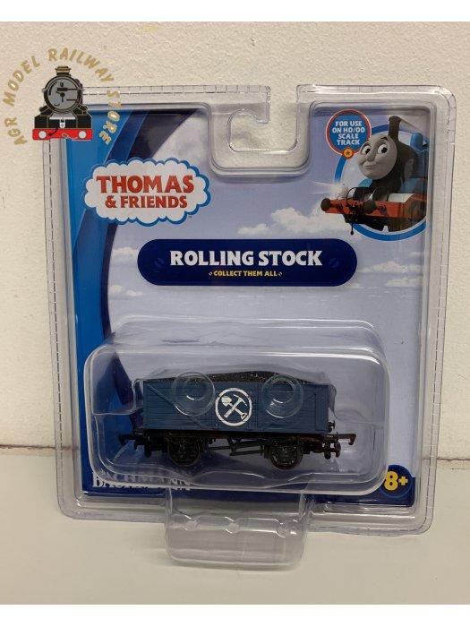 Bachmann USA 77001 Thomas & Friends Blue Mining Wagon with Load - OO / HO Gauge