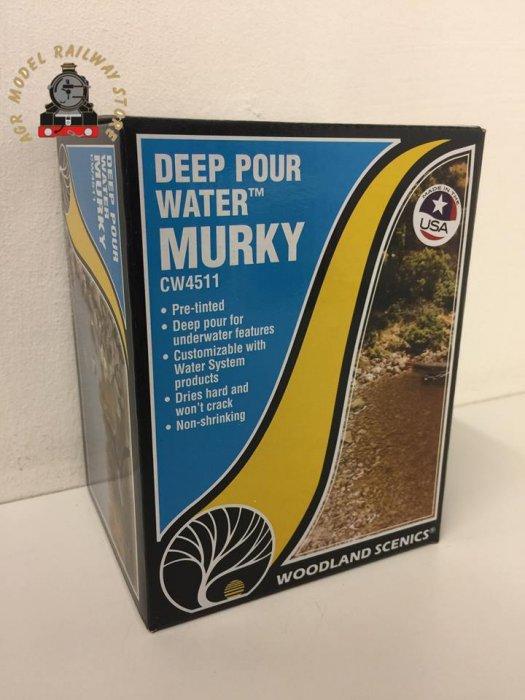 Woodland Scenics CW4511 Deep Pour Water - Murky