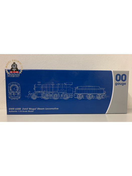 Dapol 4S-043-003 OO Gauge Mogul 43xx Green With GWR & BR Smoke Box Number Plate