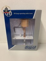 Dapol 4A-002-005 OO Gauge GWR Flat Top Water Tower Chocolate & Cream Motorised And Sound