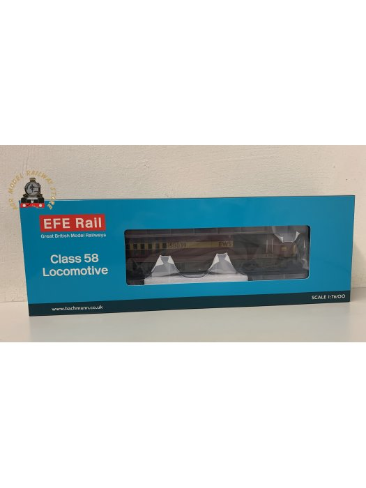 EFE Rail E84008 OO Gauge Class 58 58039 EWS Weathered