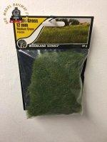 Woodland Scenics FS626 12mm Static Grass Medium Green 28 gram Bag