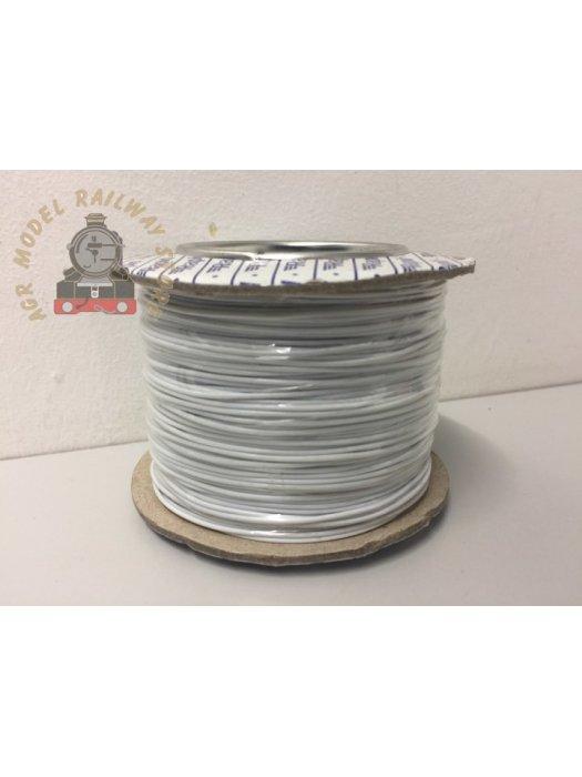 Gaugemaster BPGM11W WIRE-WHITE White Wire 100m (7 x 0.2mm)