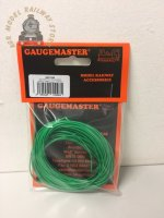 Gaugemaster WIRE-GREEN  Green Wire 10m (7 x 0.2mm)