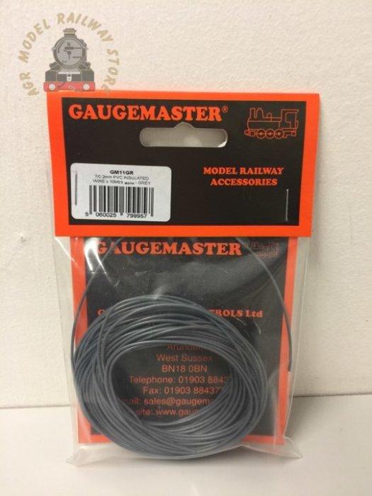 Gaugemaster GM11GR WIRE-GREY Grey Wire 10m (7 x 0.2mm)