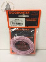 Gaugemaster GM11P WIRE-PINK Pink Wire 10m (7 x 0.2mm)