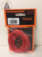Gaugemaster GM11R WIRE-RED Red Wire 10m (7 x 0.2mm)