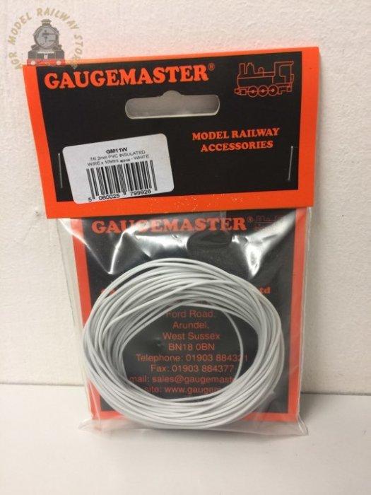 Gaugemaster WIRE-WHITE  White Wire 10m (7 x 0.2mm)