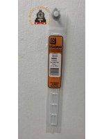 Plastruct HRS-4P  HRS-4P - HANDRAIL WHITE STYRENE 1:100 (2)