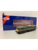 Heljan 2531 Class 25/3 D5244 in BR two-tone green with small yellow panels - weathered