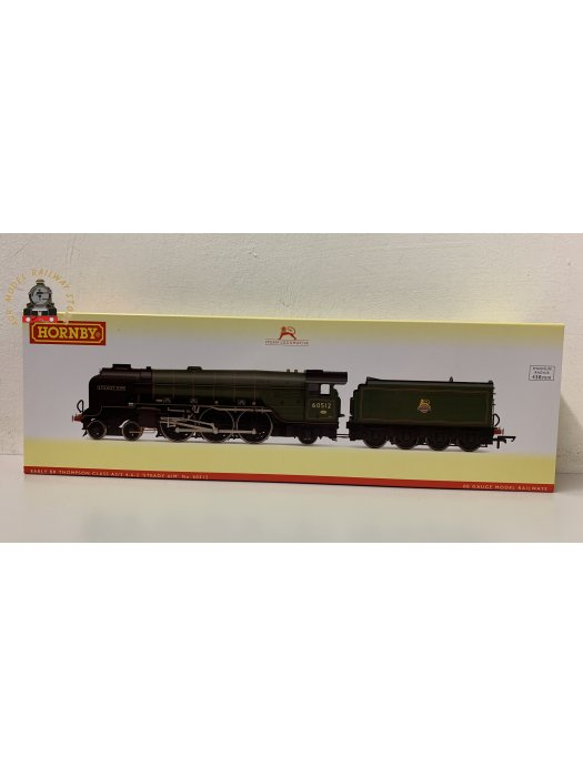 Hornby R3834 OO Gauge LNER Thompson Class A2/3 4-6-2 60512 'Steady Aim' BR Green Early Crest