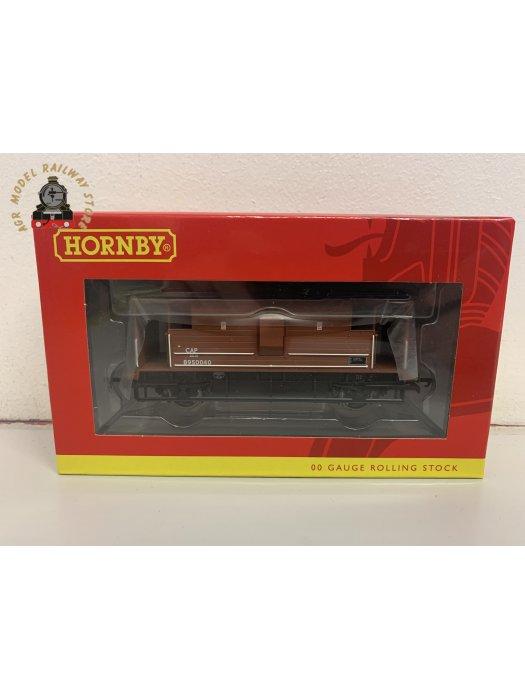Hornby R60019 OO Gauge LMS 20 Ton Brake Van BR Bauxite B950040