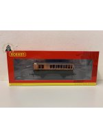 Hornby R40063 4 wheel brake 3rd 179 in LSWR brown and umber