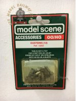 Modelscene 5083 Dustbins - OO Gauge