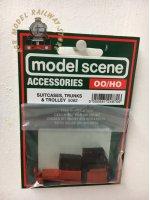 Modelscene 5062 Trunks Suitcases & Sack - OO Gauge