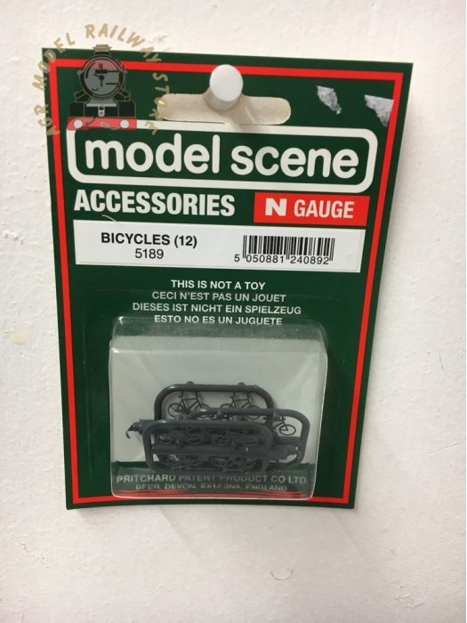 Modelscene 5189 Bicycles - N Gauge