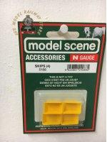 Modelscene 5188 Skips - N Gauge