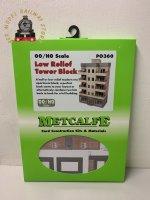 Metcalfe PO360 OO Gauge Tower Block Card Kit