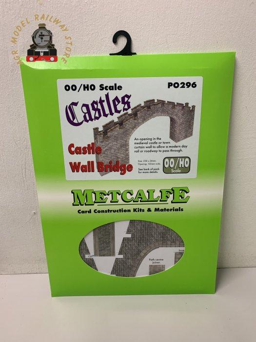 Metcalfe PO296 OO Gauge Castle Bridge Card Kit