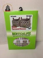 Metcalfe PN104 N Gauge Stone Terraced Houses Card Kit