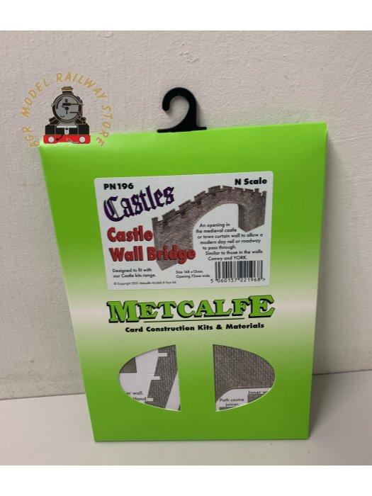 Metcalfe PN196 N Gauge Castle Bridge Card Kit