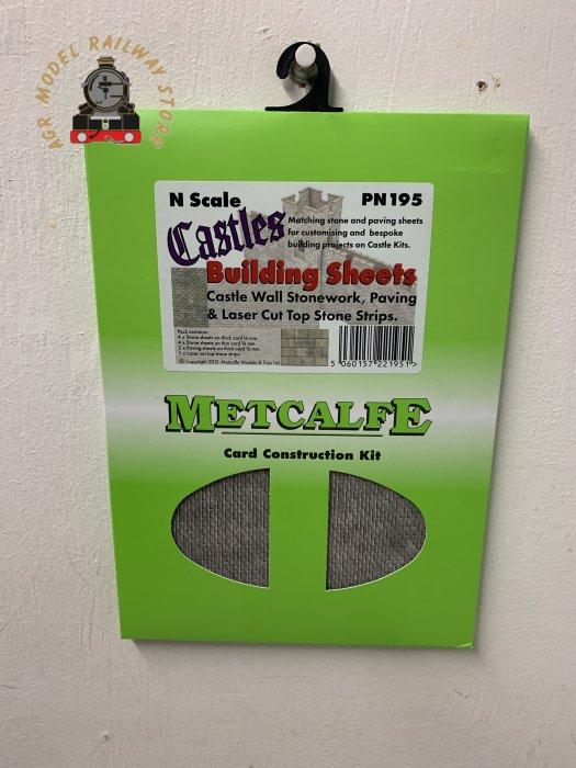 Metcalfe PN195 N Gauge Castle Stone Sheets