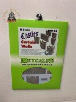 Metcalfe PN193 N Gauge Castle Curtain Walls Card Kit