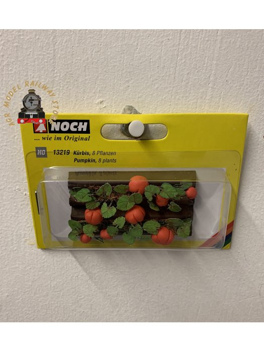 Noch 13219 Pumpkins (Pack of 8) Deco Minis - OO/HO