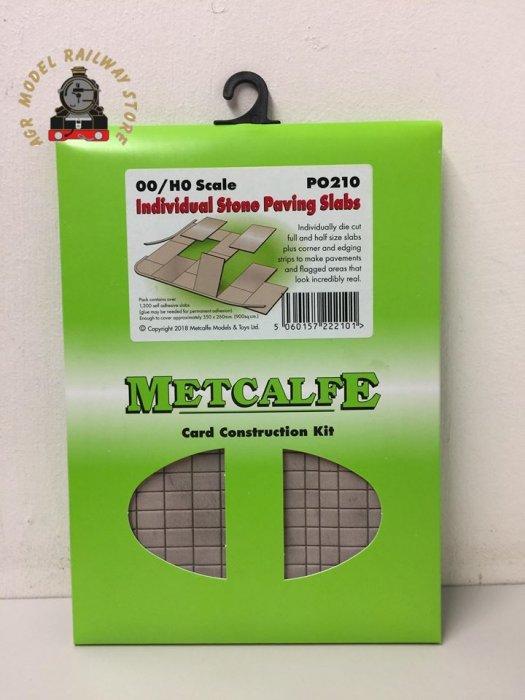 Metcalfe PO210  Paving Slabs (Self Adhesive) - OO gauge