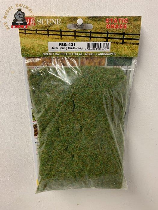 Peco PSG-421 Spring grass, static grass 4mm - 100g bag