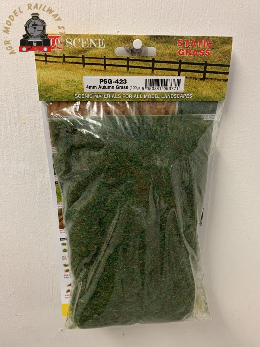 Peco PSG-423 Autumn grass, static grass 4mm - 100g bag